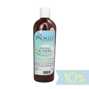 Shampoo Herbal Pacalli / 410 ml