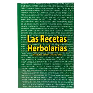 Libro Las Recetas Herbolarias