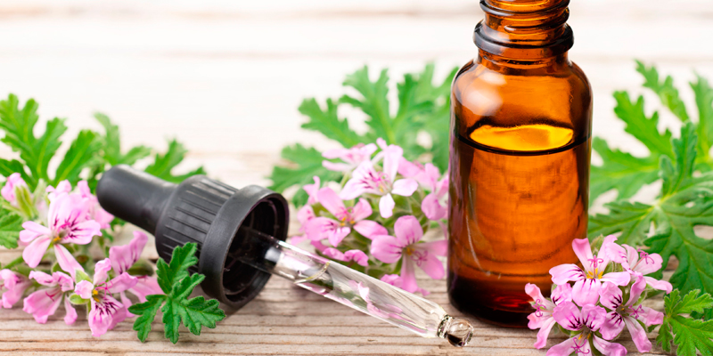 Aromaterapia con Geranio